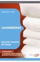LAVANDERAS SERVICIO CANARIO DE SALUD. TEMARIO Y TEST