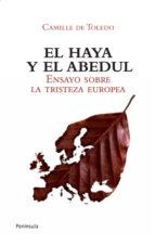 el haya y el abedul: ensayo sobre la tristeza europea camille de toledo 9788499420875