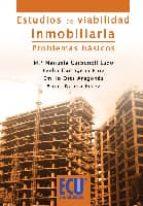 estudios de viabilidad inmobiliaria: problemas basicos mª manuela carbonell lado 9788499483375