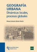 geografia urbana manuel antonio zarate martin 9788499611075