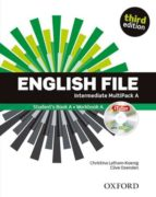 english file third edition: intermediate: student s book multipack a without oxford online skills practice-9780194520485
