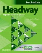 new headway beginner (4th ed.): workbook with key & ichecker-9780194771085