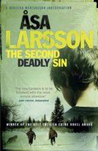 the second deadly sin (a rebecka martinsson investigation) asa larsson 9780857389985