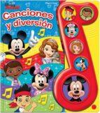 El libro de Disney junior, la nota musical canciones divertidas autor VV.AA. DOC!