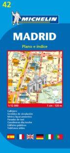 plano madrid con callejero (ref. 42) 9782067127685
