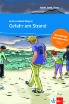 gefahr am strand - libro  + audio descargable (stadt, land, fluss ) (nivel a1)-9783125570085
