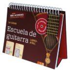 la gran escuela de guitarra (libro atril)-9783625004585