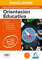 paquete ahorro orientación educativa cuerpo de profesores de enseñanza secundaria-9788414203385