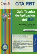guia tecnica de aplicacion del rbt - edicion 2015-9788416228485
