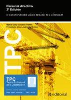 (i.b.d.) tpc   personal directivo de empresa 9788416629985