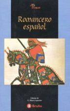 romancero español-gala (edicion) blasco aparicio-9788421618585