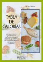 tabla de calorias ph. dorosz 9788425512285