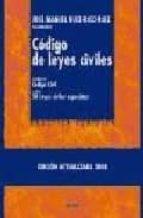 codigo de leyes civiles (contiene: el codigo civil y otras 50 ley es civiles especiales)-jose manuel ruiz-rico ruiz-9788430948185