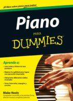 piano para dummies-blake neely-9788432900785