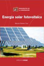 energia solar fotovoltaica-marcelo romero-9788432920585