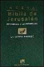 nueva biblia de jerusalen (en letra grande) 9788433014085