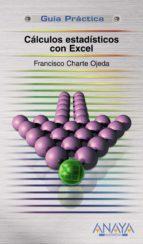 caculos estadisticos con excel-francisco charte-9788441523685