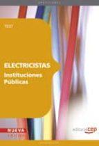 electricistas instituciones publicas. test miguel angel daddario 9788468117485