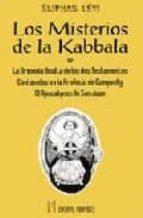 los misterios de la kabbala eliphas levi 9788479100285