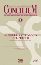 sabidurías y teología del pueblo (ebook)-carlos mendoza-álvarez-9788490734285