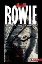 rowie: cronica de un vampiro psiquico jan alan 9788494650185