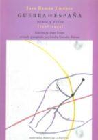 guerra en españa: prosa y verso (1936 1954) juan ramon jimenez 9788496508385