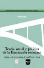 teoria social y politica de la ilustracion escocesa-maria isabel wences simon-9788496780385