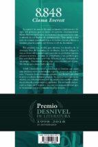 8848 clama everest (premio desnivel de literatura)-jorge m. mier-9788498294385