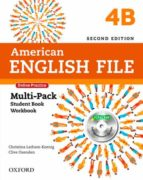 american english file: level 4: multi-pack b with online practice and ichecker-9780194776295