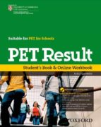 pet result student book + online workbook-9780194817295