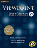 El libro de Viewpoint 2 student s book b with updated online workbook autor VV.AA. PDF!