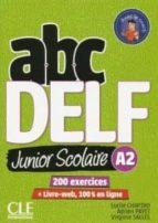 abc delf junior scolaire a2+dv 9782090382495