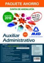 paquete ahorro auxiliar administrativo junta de andalucia-9788414216095