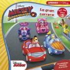 mickey y los superpilotos: la gran carrera (leo con disney nivel 1)-9788416931095