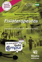 temario específico vol.4. fisioterapeutas del sas-9788416963195