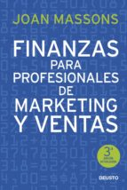 finanzas para profesionales de marketing y ventas joan massons i rabassa 9788423422395