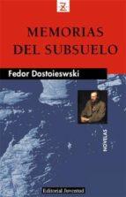 memorias del subsuelo (4ª ed) fiodor mijailovich dostoevskii 9788426109095