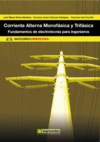corriente alterna monofasica y trifasica-jose miguel molina martinez-9788426717795