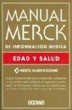 manual merck de informacion medica: edad y salud-9788449426995