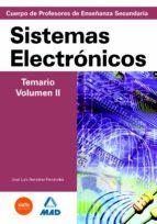 CUERPO DE PROFESORES DE ENSEÑANZA SECUNDARIA. SISTEMAS ELECTRONIC OS. TEMARIO. VOLUMEN II