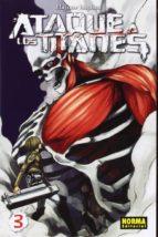 ataque a los titanes 03-hajime isayama-9788467910995