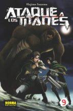 ataque a los titanes 09-hajime isayama-9788467915495