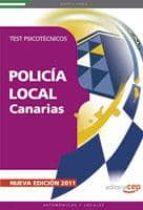 policia local de canarias: test psicotecnicos 9788468119595