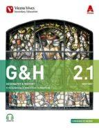 El libro de Geography history 2º eso bimestral + cd ed 2016 madrid autor VV.AA. PDF!