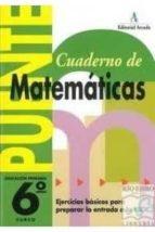 matemáticas           ( educación primaria 6º )-9788478871995