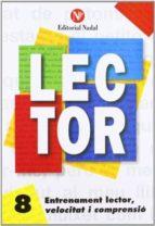 entrenament lector, velocitat i comprensió nº 8 lletra manuscrita c.i. m. 9788486545895