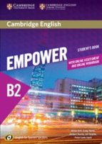 cambridge english empower for spanish speakers b2 student s book with online assessment and practice and online workbook 9788490360095