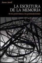 la escritura de la memoria (2ª ed.) jaume aurell cardona 9788491340195