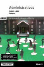 administrativos (turno libre) - temario 1-9788491475095