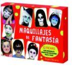 maquillajes de fantasia (caja + 32 fichas+ atril plegable) angels navarro 9788492882595